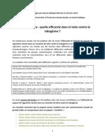 Synthèse sur les effets du paquet neutre5efficacit___paquet_neutre_mars_2015