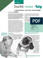 aandacht voor de big ideas in de wiskunde - artikel horend bij les 4 ogp 5a