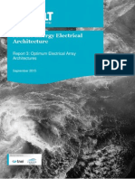 Marine Energy Electrical Architecture - Report 3 - Optimum Electrical Array Architectures
