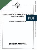 Capacitacion Para El Motor Vt 365 International (1)
