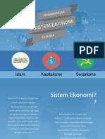 Perbandingan Sistem Ekonomi