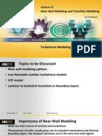Fluent-Adv Turbulence 15.0 L03 Wall Modeling