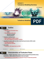 Fluent-Adv Turbulence 15.0 L01 Overview
