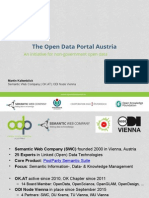 The Open Data Portal Austria