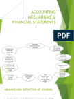Accounting Mechanisms & Financial Statements