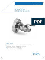 Block & Bleed Valve - Process Interface Valve