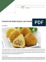 Coxinha Saudavel