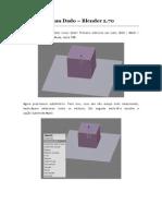 Modelando Um Dado_blender Dois Setenta