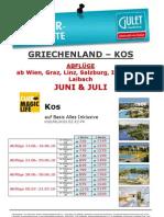 KGS Sonderangebot Club Magic Life Kos Abflüge Juni & Julil ET 24 03