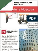 Bursa de La Moscova
