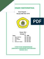 Tugas Seminar Matematika