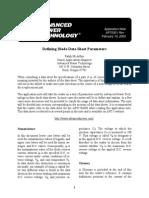 APT0301 - Defining Diode Datasheet Parameters