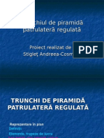 Trunchiul de Piramida Patrulatera Regulata 2