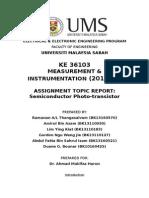 Phototransistor Report