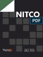 Nitco Nitco Wall Tiles 8x12 10x13