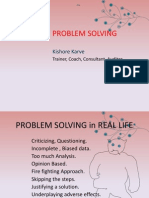 Problem solving Methodology