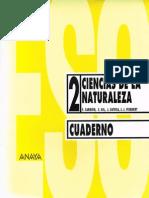 Cuaderno Ciencias de La Naturaleza Anaya 2º Eso