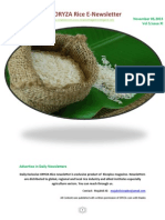 5th November ,2015 Daily Exclusive ORYZA Rice E_Newsletter by Riceplus Magazine