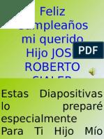 Feliz Cumpleaños José Roberto11