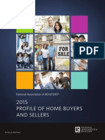 2015 Profile of Home Buyers and Sellers Highlights