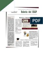Boletín 2 del ISAP