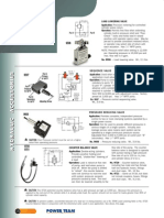 Power Team Inline Valves - Catalog