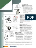 Power Team Inline Valves - Catalog