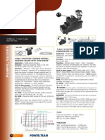Power Team Manual Pilot Valves - Catalog