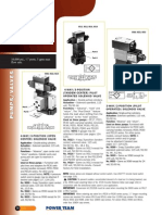Power Team Pump Mounted Solenoid Air Valves - Catalog