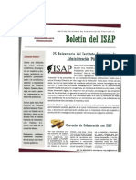 Boletín 3 del ISAP