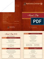 Annual Day 2015 Invitation