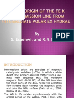On the Origin of the Fe K Alpha Emission Line from Intermediate Polar EX Hydrae