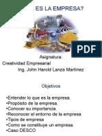 01 La Empresa