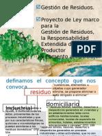 Presentación Proyecto de Ley Residuos-MMA