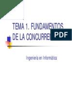 Fundamentos de la Concurrencia