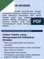 kebijakan Dividen