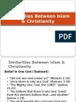 Similarities Between Islam Christianity