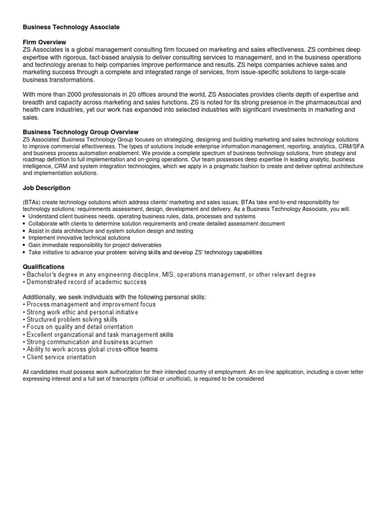 bta campus 2012 13 ks business marketing - Cover Letter Expressing Interest