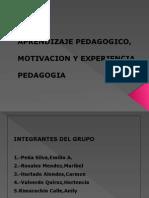 "EL APRENDIZAJE PEDAGÃ""GICO.pptx"