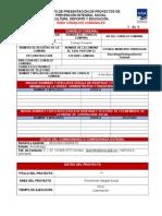 Proyecto Dotación Deportiva Ona 2014
