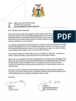 Mayor Tory and Coun. Colle letter to TTC board