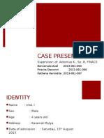 Case Hirschsprung