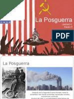 La Posguerra (Análisis General)