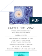 Prayer Evolving -- Five Personal Explorations Into the Future of Prayer [1-page view]