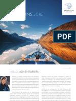 2016 Adventure Canada Expeditions