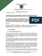 Plan de Desarrollo Departamento de Cesar