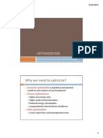 CH 403 Optimization