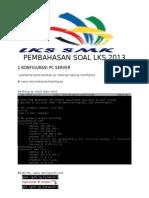 PEMBAHASAN SOAL LKS2013