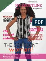 WOMEN'S FRONTLINE MAGAZINE