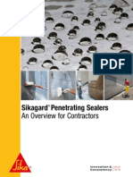 Sikagard Penetrating Sealers